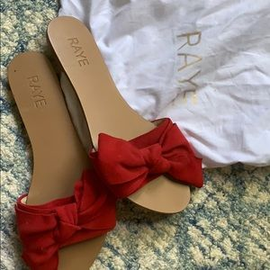 Rate Sandy Sandal in Rouge size 9.5